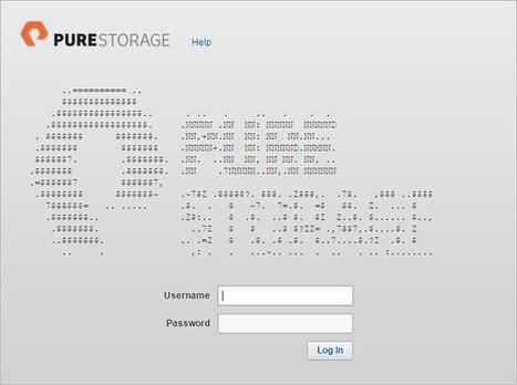 Pure Storage ASCII Art Contest | ASCII Art | Scoop.it
