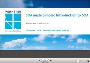 SOA Made Simple | Introduction to SOA by Ronald van Luttikhuizen - Automated Trader (blog) | SOA | Scoop.it