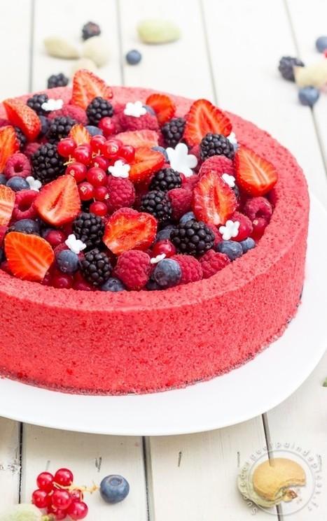 Entremets frais aux fruits rouges et au lait d'amande - Sucre d'Orge et Pain d'Epices | Passion for Cooking | Scoop.it