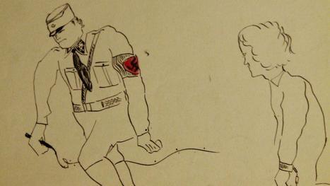 Les dessins des enfants de la Shoah exposés à Paris | Union Européenne, une construction dans la tourmente | Scoop.it