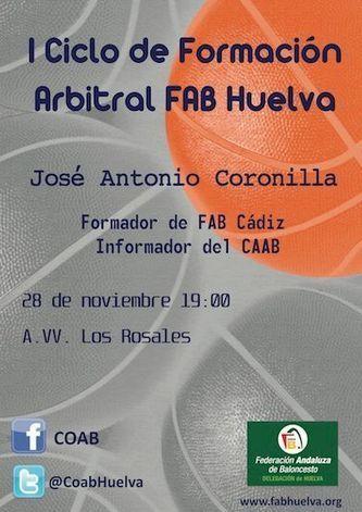 I Ciclo formación arbitral FAB Huelva - Federación Andaluza de Baloncesto | Basket-2 | Scoop.it