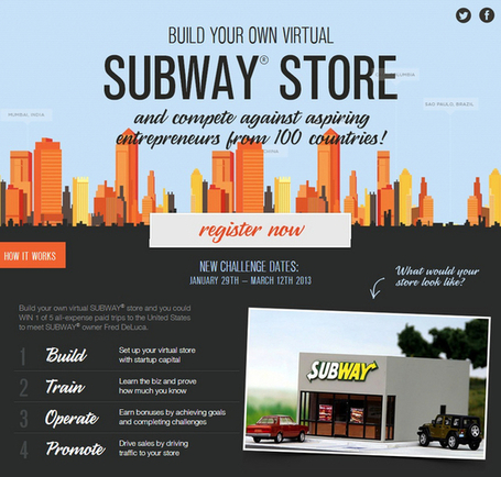 Influencia - Audace - Subway forme les chefs d'entreprise de demain | RSE et business | Scoop.it
