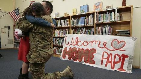 Military children more likely to have a history of suicide attempts | Woodbury Reports Review of News and Opinion Relating To Struggling Teens | Scoop.it