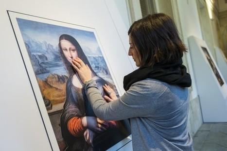 Clic France / Le Museo Prado de Madrid encourage les malvoyants à toucher 6 de ses œuvres   Clic France   Scoop.it