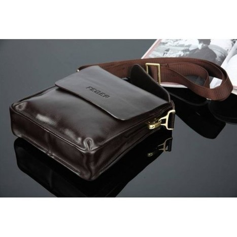 Feger soft leather messenger bag with shoulder strap | Apple iPhone and iPad news | Scoop.it