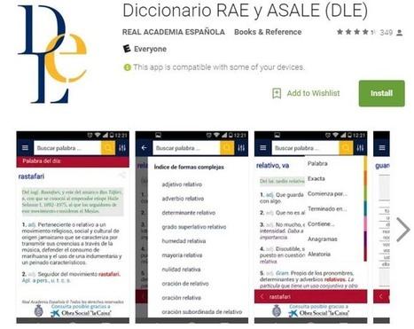 Nueva aplicación para celulares del Diccionario de la RAE | Educación Móvil | Scoop.it