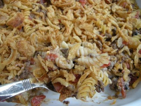Crunchy Beef Casserole (and my casserole dish collection) | Amanda's Recipe Box | Scoop.it