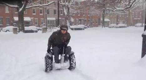 Segway Into An Electric WheelchairUniversal Design Style | Wheelchairs | Scoop.it