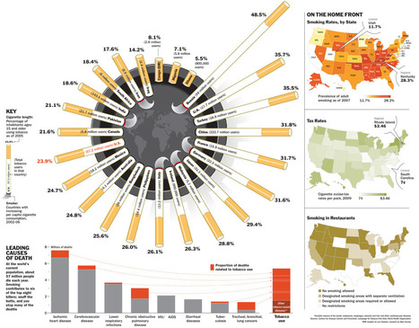 Leading Causes of Death - TIME | Alcohol and Other Drug Infographics | Scoop.it
