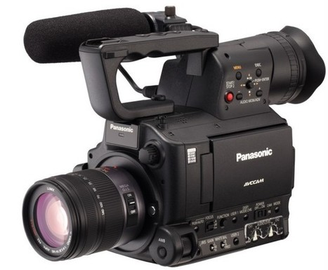 Panasonic AG-AF100A Officially Announced   Gear in Motion   Scoop.it