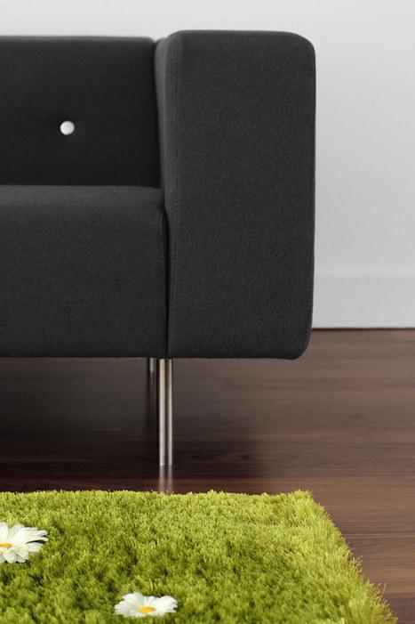 Spring Summoned Indoors With The Daisy Garden Interactive Rug | 360° design | Scoop.it