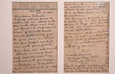 Cartas de Frida Kahlo revelan aspectos íntimos de su vida   La Prensa (Nicaragua)   Kiosque du monde : Amériques   Scoop.it
