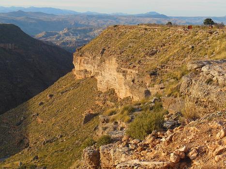 EL RÍO GOR. Un pequeño cañón del Colorado en Granada | Enseñar Geografía e Historia en Secundaria | Scoop.it