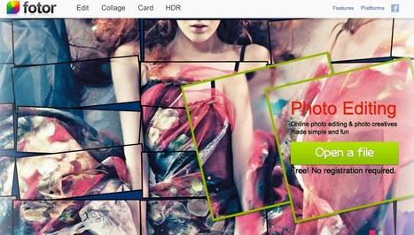 Fotor | Photo Editing Made Simple - Free Online Photo Editor | Uppdrag : Skolbibliotek | Scoop.it
