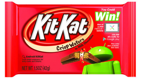 Android Partnership With Kit Kat Goes Beyond OS Name | Brand Marketing & Branding | Scoop.it