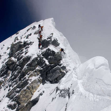 a sea of lead, a sky of slate: Abandoned on Everest | Cosas Varias Internet | Scoop.it