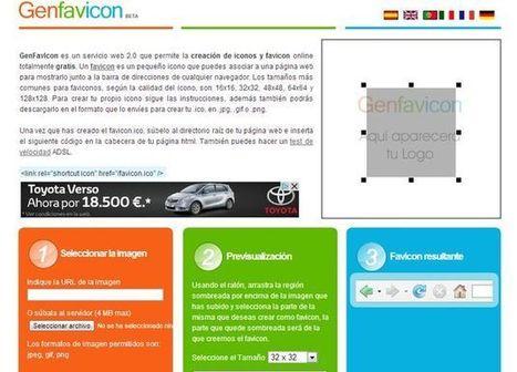 Genfavicon, crea el favicon para tu web con esta herramienta online | Ultimate Tech-News | Scoop.it