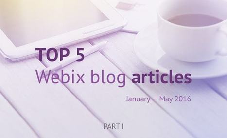 Top 5 Webix blog articles from January to May 2016: Part 1 | Web Development and Software Testing | Scoop.it