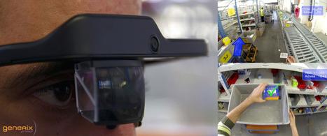 Les lunettes connectées en entrepôt   UDW   Scoop.it