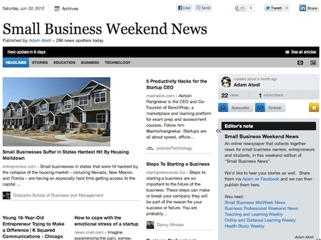 Small Business Weekend News | Business Futures | Scoop.it