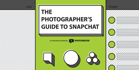 The Photographer's Guide to Snapchat | Artdictive Habits : Sustainable Lifestyle | Scoop.it