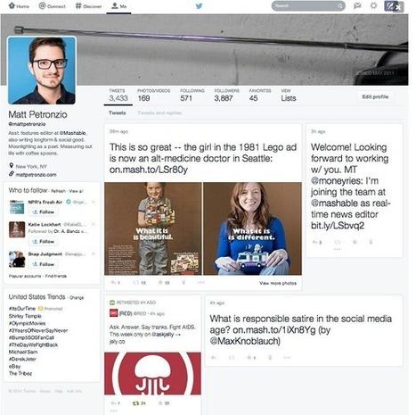 Le futur design de Twitter aura un arrière-goût de Facebook | Réseaux sociaux au quotidien | Scoop.it