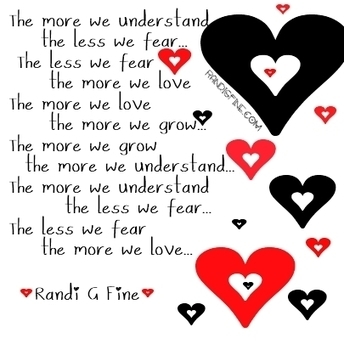 Love More Fear Less Picture Quote | codependent | Scoop.it