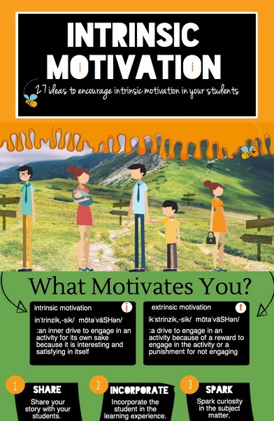 Intrinsic Motivation for the Classroom | Enrjtk Educatr | Scoop.it