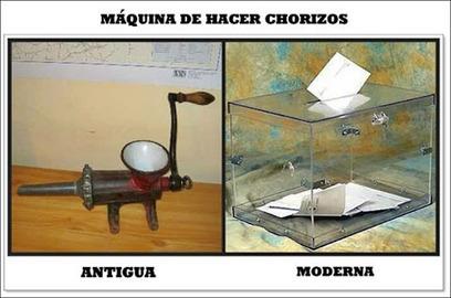 Máquina de hacer chorizos. | iPADS EN EDUCACIÓN | Scoop.it