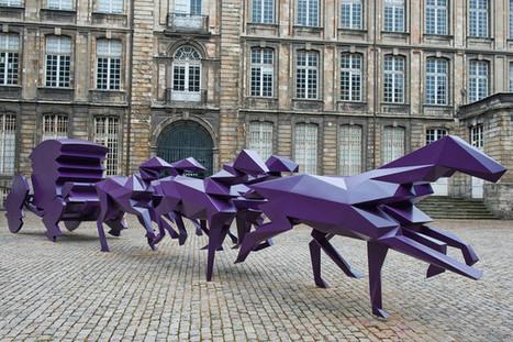 C'est Xavier Veilhan qui représentera la France à la Biennale de Venise 2017 | SCULPTURES | Scoop.it