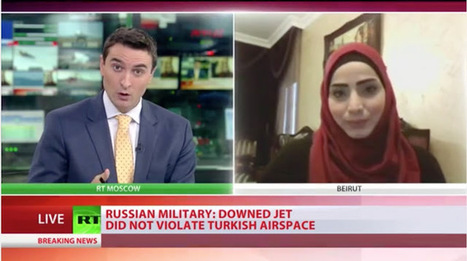 Marwa Osman on Russia Today - Russia's right to self-defense | Global politics | Scoop.it
