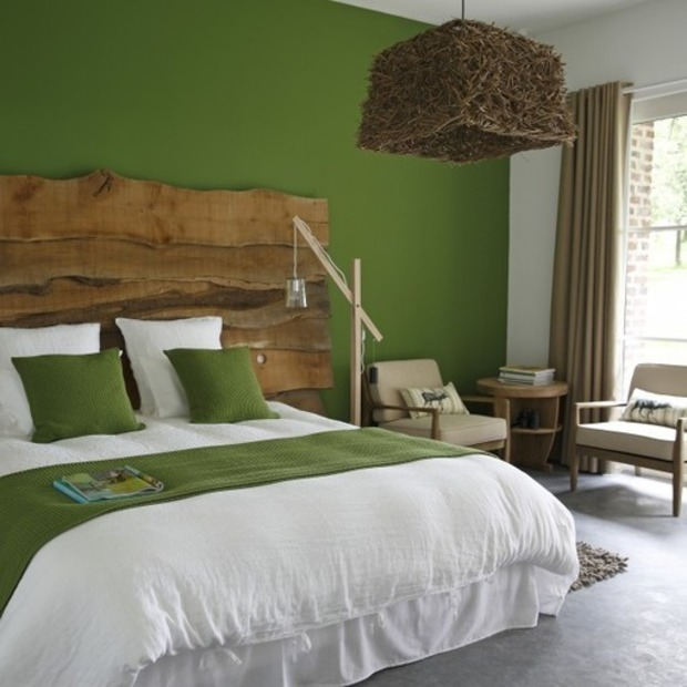 D coration chambre nature vert for Chambre design nature