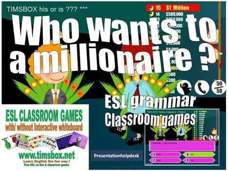 Who wants to be a millionaire ? GRAMMAR (10 series) | student | Scoop.it