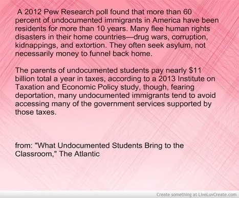Statistic Of The Day: The Undocumented In Our Classes | Technology  in the K-12 classroom | Scoop.it