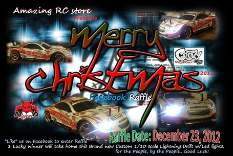 Win a Hobby  Grade Remote Control RC w/LED Lights this X-mas ! Open to Canada & USA | Amazing RC Store - Redcat Racing Dealer in Canada | Scoop.it