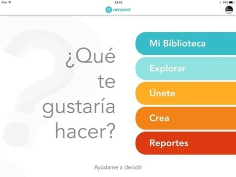 5 razones por las que deberías estar usando Nearpod. | E-learning, Moodle y la web 2.0 | Scoop.it
