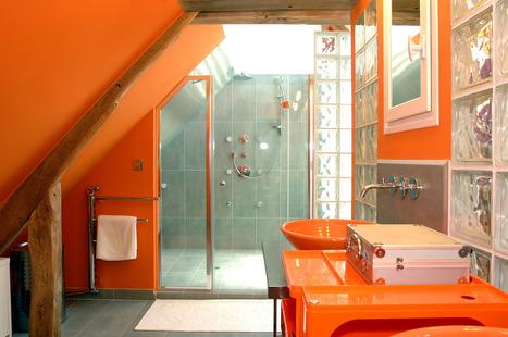 Réveil d'une ancienne grange, version Design Récup en technicolor | Kasavox | Aménagement et décoration | Scoop.it