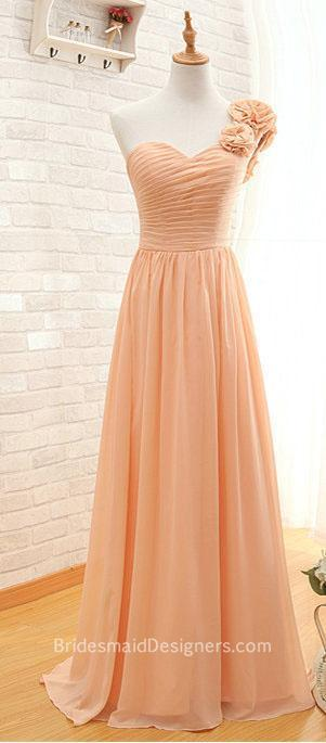 Peach Bridesmaid Dresses - BridesmaidDesigners | Designer Bridesmaid Dresses 2015 | Scoop.it