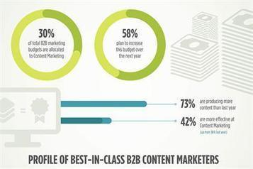 Infographic: B2B content marketing trends for 2014 - Brand Republic News   Marketing Insights   Scoop.it