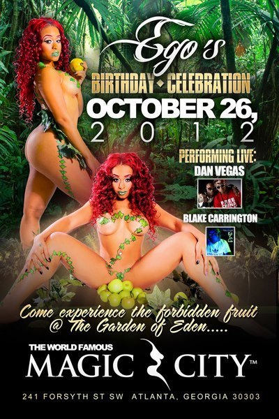 Ego's Party @ MagicCity 10/12/2012 #CUThere | GetAtMe | Scoop.it