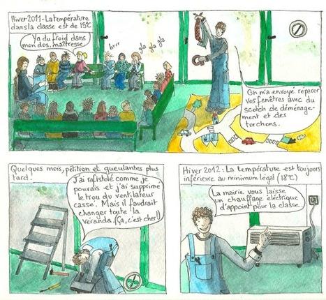 Ma classe pas classe: Passer l'hiver dans une classe-frigidaire | Animation et enseignement | Scoop.it