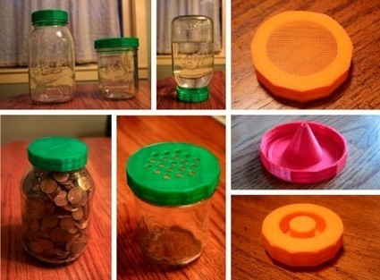 3D printed Canning Jar Accessories | 3D Printing and Fabbing | Scoop.it