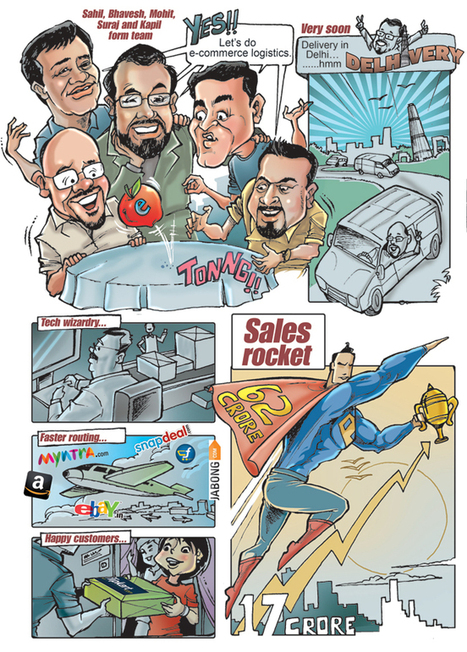 Coolest Start-ups: Supply-chain enabler Delhivery is rising rapidly - Business Today   Ecommerce logistics and start-ups   Scoop.it