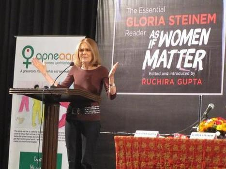 Reading gender: On Gloria Steinem's latest collection of articles | Dare To Be A Feminist | Scoop.it