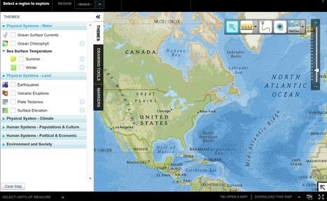 MapMaker Interactive - Explore the World with Interactive Maps | ks3humanities | Scoop.it