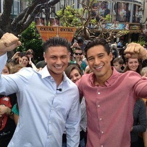 "Mario Lopez to fight Pauly D--It's the ""Battle of the Douche-Bags!!"" 