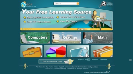 Free Online Learning at GCFLearnFree.org | Time to Learn | Scoop.it