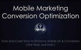 Mobile Marketing Conversion Optimization Tools & Code Tricks | Awesome ReScoops | Scoop.it