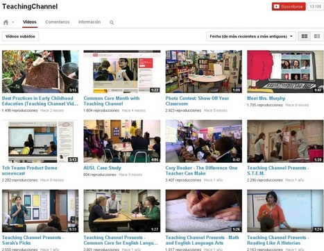 10 canales de Youtube fundamentales para educadores | Sociedad 3.0 | Scoop.it