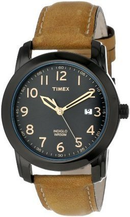 ***  T2P1339J Timex Mens T2P1339J Elevated Classics Black Dial, Tan Leather Strap Watch Timex | Men's Watches for Everyday Discount Prices | Scoop.it